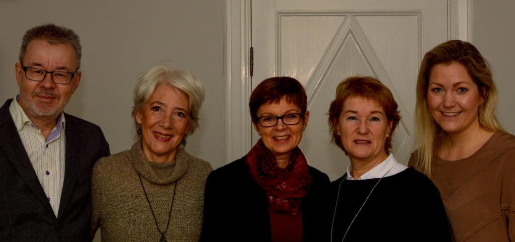 Håkan Leander, Märta Lauritzen, Agneta Sandberg, Gunnel Andersson, Nina Nilsson